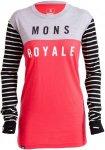 Mons Royale Merino W Boyfriend Long-Sleeve | Größe L,S | Damen Langarm-Shirt