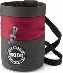 Moon S7 Retro Chalk Bag Rot-Grau, One Size,Kletterzubehör ▶ %SALE 30%