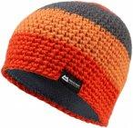 Mountain Equipment Flash Beanie Gestreift / Orange / Rot | Größe One Size |  K