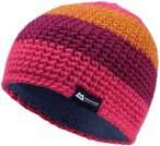 Mountain Equipment W Flash Beanie Gestreift / Lila / Orange / Pink | Größe One