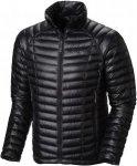 Mountain Hardwear Ghost Whisperer Down Jacket Schwarz, Male Daunen Daunenjacke,