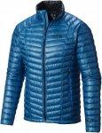 Mountain Hardwear Ghost Whisperer Down Jacket Blau, Male Daunen Daunenjacke, XXL