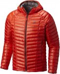 Mountain Hardwear Ghost Whisperer Hooded Down Jacket Orange, Male Daunen Daunenj