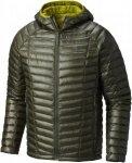 Mountain Hardwear M Ghost Whisperer Hooded Down Jacket Herren | Grün | L | +S,M