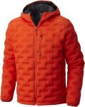 Mountain Hardwear Stretchdown DS Hooded Jacket Orange, Male Daunen Freizeitjacke