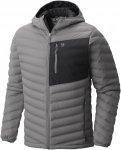 Mountain Hardwear Stretchdown Hooded Jacket Grau, Male Daunen Daunenjacke, S