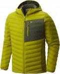 Mountain Hardwear Stretchdown Hooded Jacket Grün, Male Daunen Daunenjacke, L