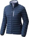Mountain Hardwear W Stretchdown Jacket Blau | Damen Freizeitjacke