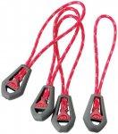 MSR Universal Zipper Pulls Rot   Größe One Size    Zelt-Zubehör