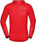Norrona Bitihorn Warm1 Stretch Hoodie Rot, Male Freizeitpullover, M
