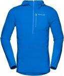 Norrona Bitihorn Warm1 Stretch Hoodie Blau, Male Freizeitpullover, M