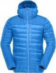 Norrona M Falketind Down750 Hood Jacket Blau | Größe XL | Herren Freizeitjacke