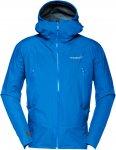 Norrona Falketind Gore-Tex Jacket Blau, Male Gore-Tex® Freizeitjacke, XL