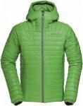 Norrona Falketind Primaloft100 Hood Jacket Grün, Male PrimaLoft® Freizeitjacke