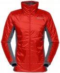 Norrona W Falketind Primaloft60 Jacket Rot | Größe XS | Damen Freizeitjacke