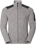 Odlo Midlayer Full Zip Lucma X Grau, Male Fleecejacke, S