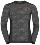 Odlo Shirt L/S Crew Neck Blackcomb Evolution Warm Schwarz, Male Langarm-Hemd, S