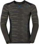 Odlo Shirt L/S Crew Neck Blackcomb Evolution Warm Grün, Male Oberteil, S
