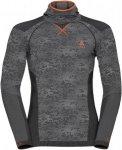 Odlo M Shirt L/S With Facemask Blackcomb Evolution | Herren Langarm-Shirt