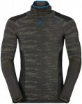 Odlo Shirt L/S With Facemask Blackcomb Evolution Warm Grün, Male Oberteil, S