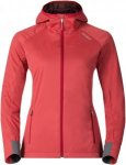 Odlo W Jacket Cipher Damen | Rot | XL | +XS,L,XL