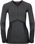 Odlo W Shirt L/S Crew Neck Blackcomb Evolution Warm | Größe XS | Damen Obertei