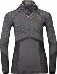 Odlo W Shirt L/S With Facemask Blackcomb Evolution Warm | Größe XS | Damen Lan