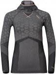 Odlo W Shirt L/S With Facemask Blackcomb Evolution Warm | Damen Langarm-Shirt