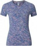 Odlo T-Shirt S/S Crew Neck Sillian Lila/Violett, Female Kurzarm-Shirt, XS