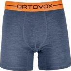 Ortovox 185 Rock'n'wool Boxer Blau, Male Merino Unterwäsche, XL