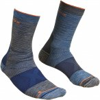 Ortovox M Alpinist Mid Socks Blau / Grau | Größe 45 - 47 | Herren Socken