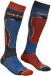 Ortovox Merino Socks Ski Rock'n'wool Orange, Male Merino Ski-& Snowboardocken, 4