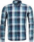 Ortovox Merino Vintage Cortina Shirt Long Sleeve M Herren | Blau | S | +S