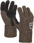 Ortovox Swisswool Classic Glove Leather Braun | Größe XS |  Fingerhandschuh