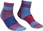 Ortovox W Alpinist Quarter Socks Blau / Rot   Größe 39 - 41   Damen Socken