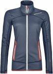 Ortovox W Merino Fleece Jacket Blau | Damen Freizeitjacke