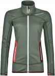 Ortovox W Merino Fleece Jacket Grün | Damen Freizeitjacke