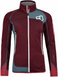 Ortovox Merino Fleece Plus Jacket Rot, Female Merino Fleecejacke, S