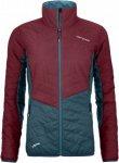 Ortovox Swisswool Light Pure Dufour Jacket Colorblock, Female Daunen Freizeitjac