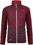 Ortovox W Swisswool Light Pure Dufour Jacket Rot | Damen Winterjacke