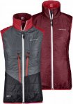 Ortovox Swisswool Light Vest Piz Grisch Grau, Female Daunen Isolationsweste, L