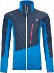 Ortovox W Westalpen Swisswool Hybrid Jacket Colorblock / Blau | Damen Winterjack