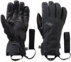 Outdoor Research Illuminator Sensor Gloves Schwarz | Größe XL |  Fingerhandsch