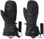 Outdoor Research Lucent Heated Sensor Mitts Schwarz |  Fausthandschuh