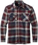 Outdoor Research M Feedback Flannel Shirt Kariert / Blau / Rot   Herren Hemd