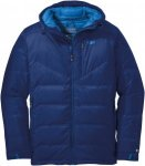 Outdoor Research Floodlight Down Jacket Blau, Male Daunen XL -Farbe Baltic, XL