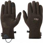 Outdoor Research M Flurry Sensor Gloves Blau | Größe XL | Herren Fingerhandsch