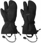 Outdoor Research M Highcamp 3-Finger Gloves Schwarz | Herren Fingerhandschuh