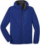 Outdoor Research M Refuge Air Hooded Jacket Blau | Herren Isolationsjacke