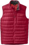 Outdoor Research Transcendent Down Vest Rot, Male Daunen Isolationsweste, L